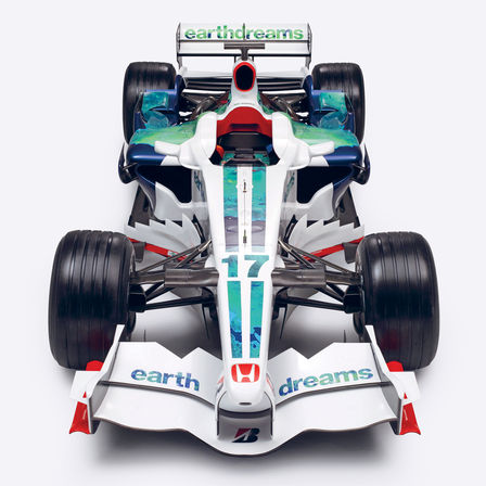 "A Honda ""Earth Dreams"" F1-autó képe."